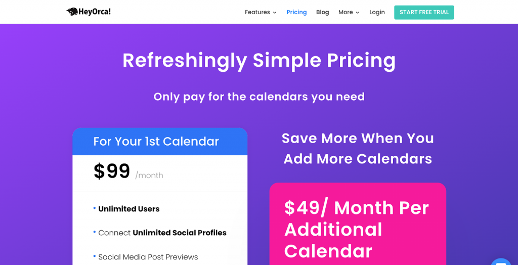 11 Best Social Media Scheduling Tools - Keyhole - HeyOrca Pricing