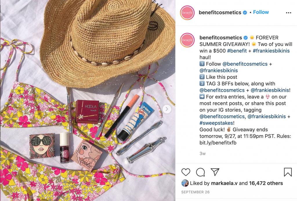 Instagram Giveaway Contests - Instagram SEO