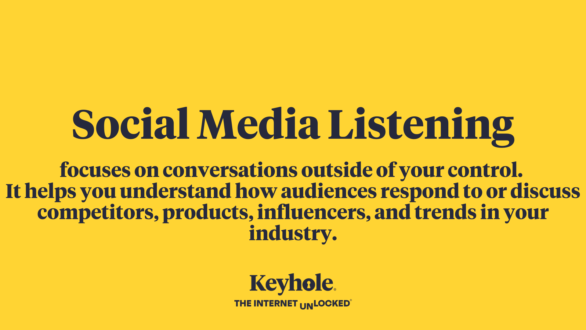 Social listening definition