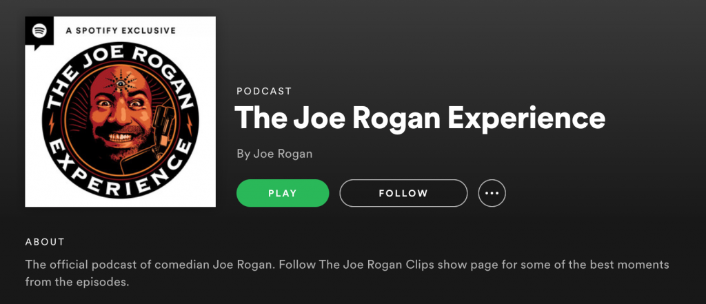 The Joe Rogan Experience Podcast Influencers - Influencer Marketing in 2021