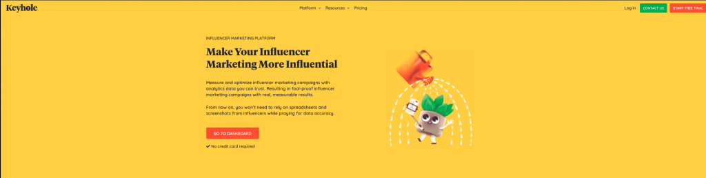 Influencer Marketing Tools in 2021: Keyhole