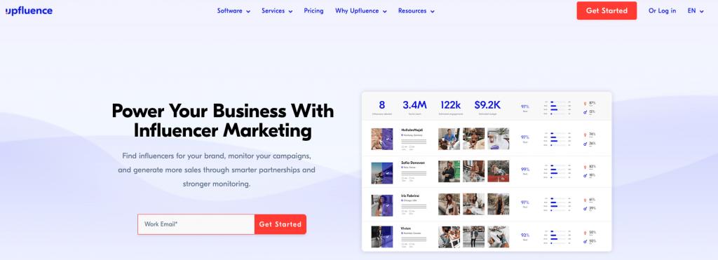 Influencer Marketing Tools 2021 - Upfluence